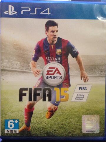PS4 Fifa 15 BD mulus unused