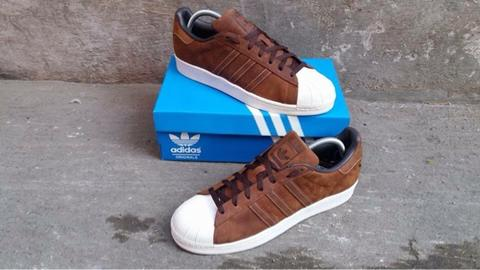 WTS ADIDAS SUPERSTAR NEW COLOUR ORIGINAL (brown)
