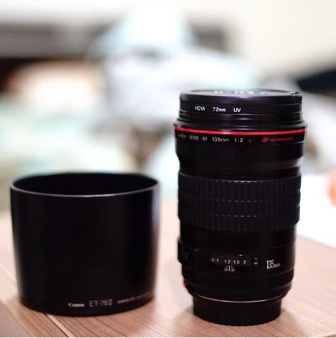 Canon EF 135mm F2 L mulus ex DS