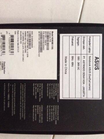 Asus Memopad ME172V