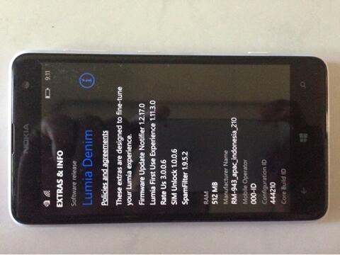 Nokia Lumia 625 white