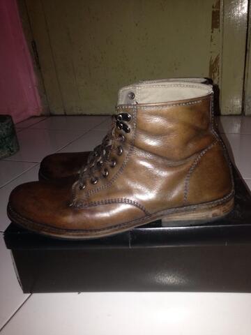 Terjual sepatu kulit handmade bandung cod (pasteur)  f84bc0ac2b
