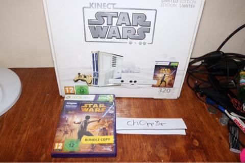 XBOX 360 Star Wars Limited Edition Collector Item
