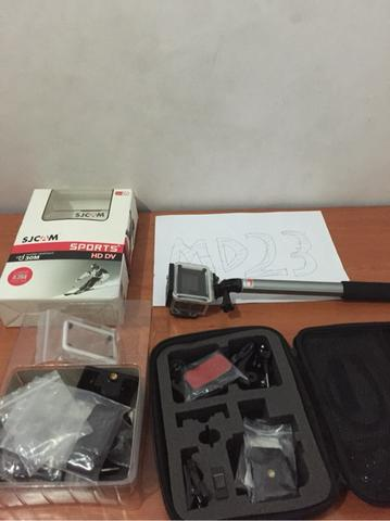 Sjcam Sj4000 Wifi 2nd mint condition + Bag + Tongsis + Extra Batteries