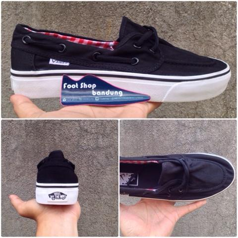 7e937602fb5 Jual VANS ZAPATO BLACK WHITE