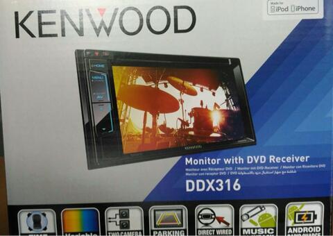 Kenwood DDX 316 Garansi resmi