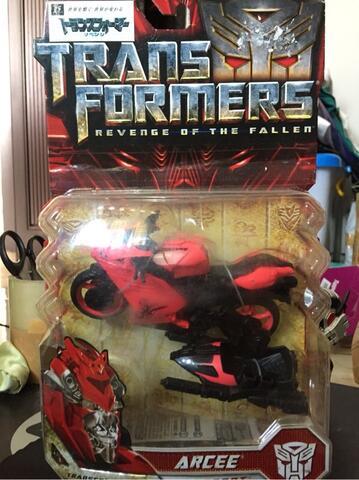 Transformers Deluxe Arcee ROTF Takara Tomy
