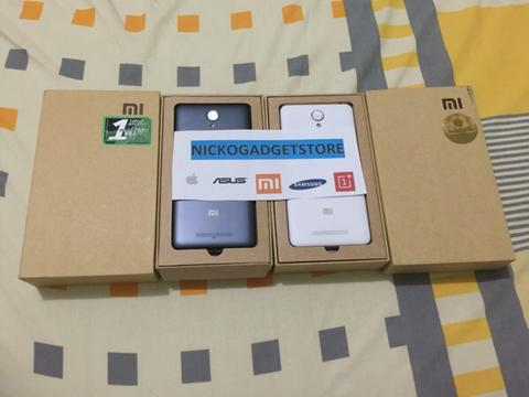 Xiaomi redmi note 2 dan note 2 prime white and grey 16 32 ram 2gb 2.2ghz full hd