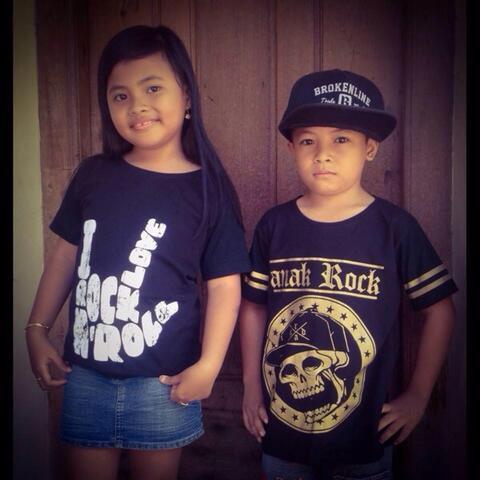 Kaos Anak Rock