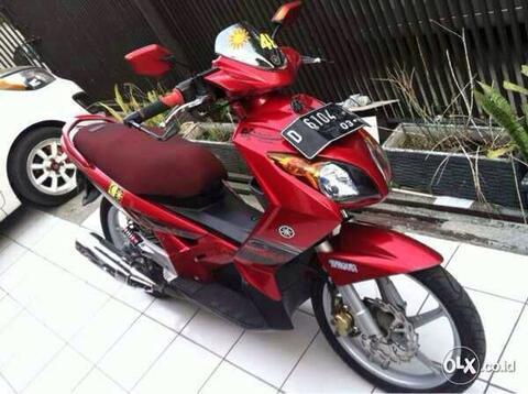 Yamaha NOUVO 2007 AIS 150 cc Plat Bdg Kota Muluss dan Antik