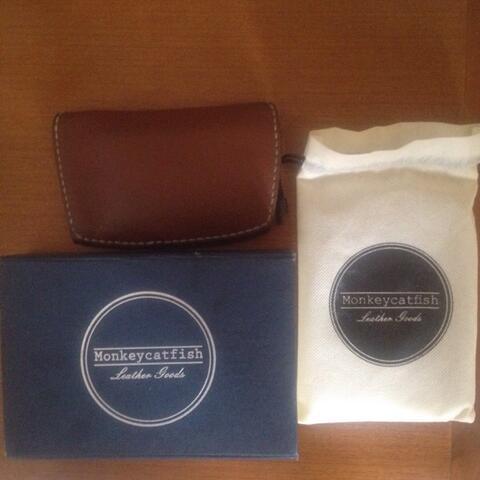 monkeycatfish medium leather wallet 2nd