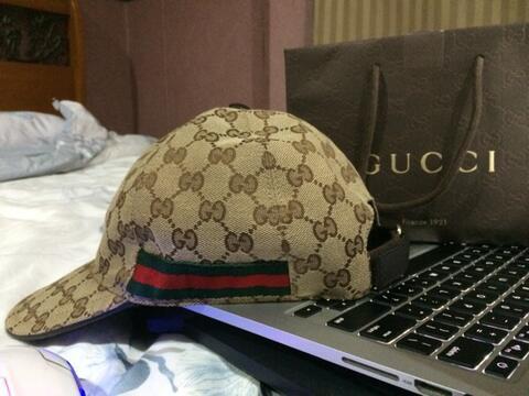 Terjual Dijual Topi Gucci Original Gg Canvas Baseball With Web 100 082cb0d15c
