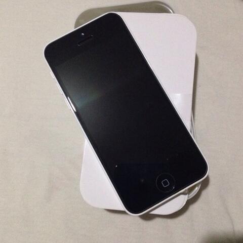 iPhone 5C 32GB White Fullset Mulus