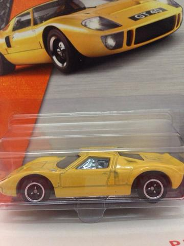 FORD GT40 (MATCHBOX)