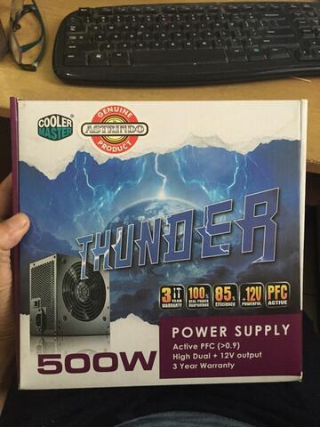 power supply Cooler Master THUNDER 500