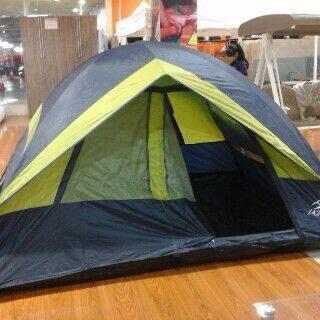 tenda dome camping la trekking kap 4 orang