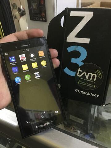 bb z3 blackberry z3 mulus like new normal 100%