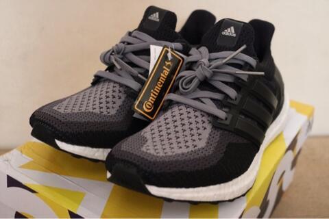 """Adidas Ultra Boost """"Gradient"""" Grey/Black/Dark Solid Grey NEW BNIB"""