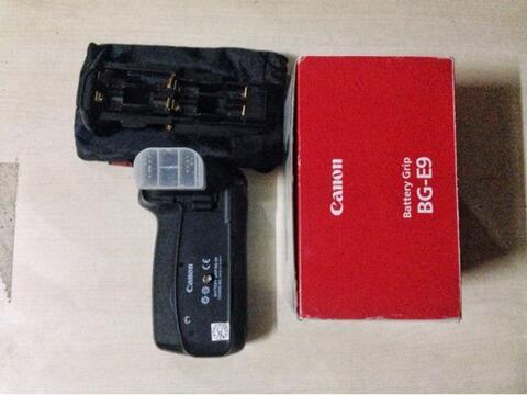 Battery E9 ori canon 60D mulus murah