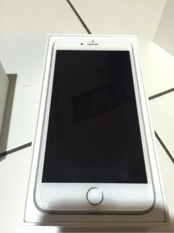 iPhone 6 plus 64Gb Silver (bandung)