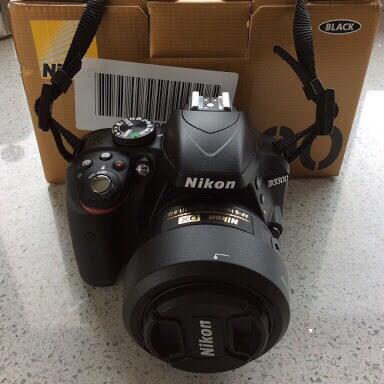 Nikon D3300 eks Alta + AFS 35 1.8G Mulus!