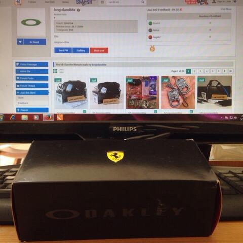 733c233037 Terjual WTS Oakley Tincan Carbon Ferrari New Original 100%
