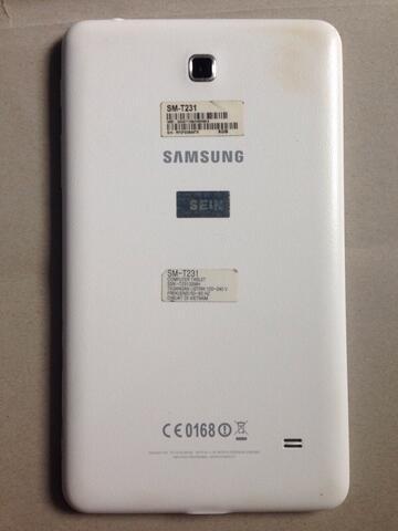 "Galaxy Tab 4 7"" + MICROSD 32gb"