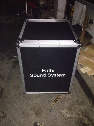 ++case245 flightcase rack aksesories mixer