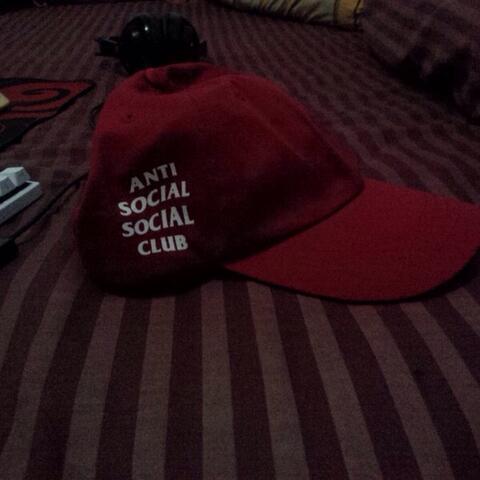 WTS topi / cap anti social social club ORIGINAL