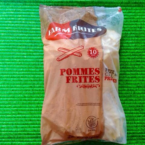 "Frozen Food French Fries ""Pommes Frites"""