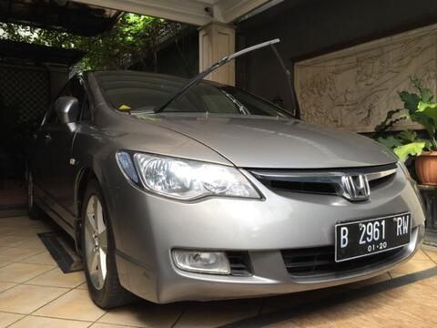 Honda Civic AT 1.8 2008 (NIK 2007) Mulus Terawat KM 85000