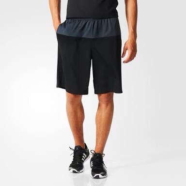 Adidas Infinite Series Short Knit 3-Stripes Black Original