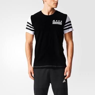 Adidas Men's Adidas 03 Tee Black/White Original