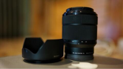 Lensa Sony Lens Kit fullframe 28-70mm f3.5-5.6 untun a7 a7s a7r murah jogja