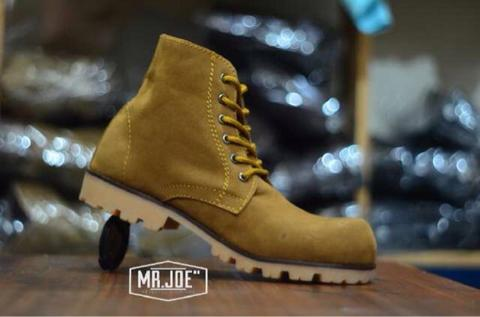 WTS : Original shoes handmade by MR.JO3. Sepatu safety outdoor, proyek