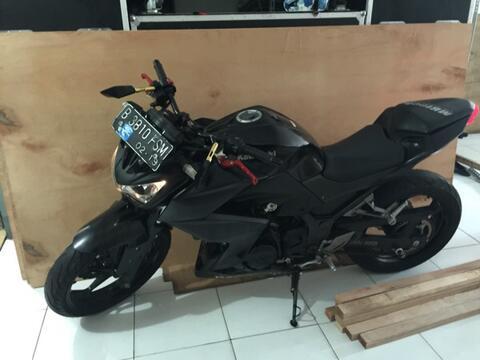 Ninja Kawasaki Z250 2014 Black LIKE NEW TINGGAL PAKAI