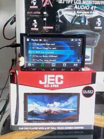 Head Unit Doubledin TV AUX DVD • Car audio bandung