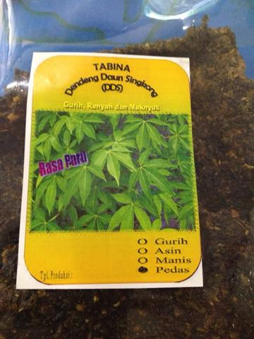 Tabina - dendeng singkong rasa paru