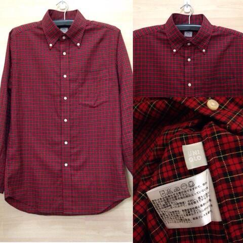 Jual Flannel Uniqlo, Polo Shirt, Chino Pants