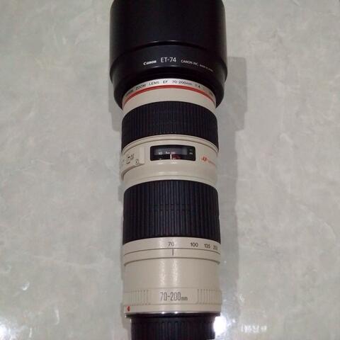 [CAKIM] WTS lensa Canon EF 70-200mm F/4L USM mulus kode UY