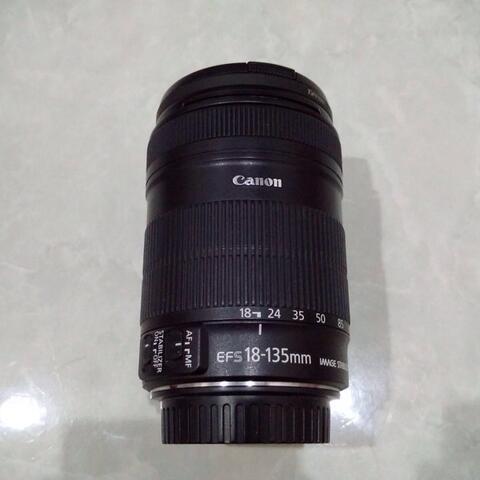 [CAKIM] WTS lensa Canon EF-S 18-135mm IS mulus bonus filter