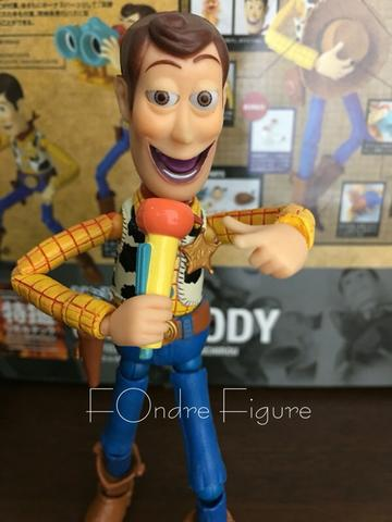 REVOLTECH WOODY TOY STORY KAIYODO ACTION FIGURE KWS