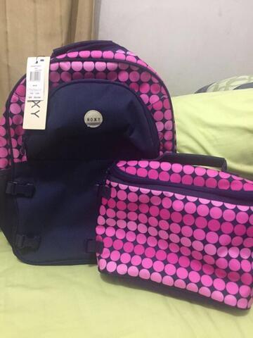 tas backpack / ransel roxy original