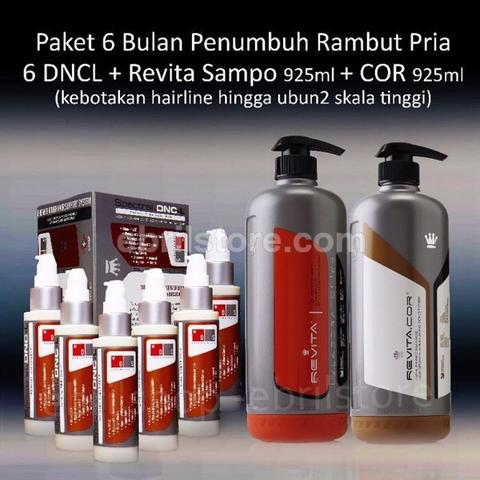 Paket 6 bulan spectral DncL + Revita Sampo 925ml + Revita COR 925 ml hemat!