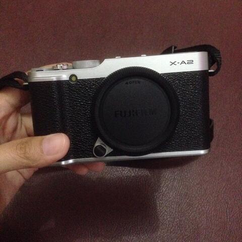 Kamera Mirrorless Fujifilm X-A2 Black