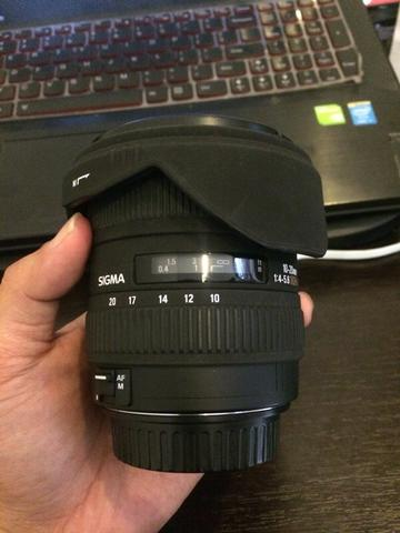 Jual Sigma 10-20mm f4-5.6 for Canon