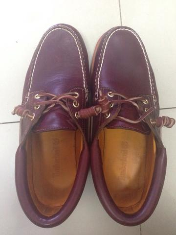 Terjual WTS Timberland Classic 3 Eye Boat Shoes size 8 e7a1cee210