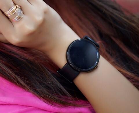Moto 360 black leather 1st gen fullset