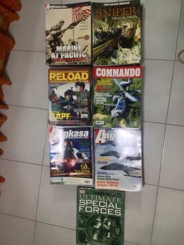 WTS Angkasa Edisi Koleksi, Reload, Commando kolpri :D
