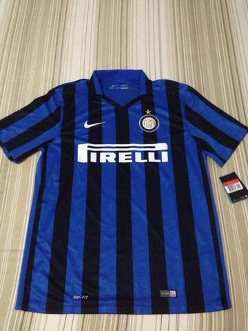 WTS Jersey HOME Inter Milan 2015/16 ORI dari Itali